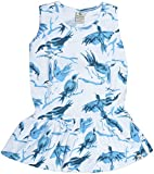 Bluebuck Girls' Frock (05-AOPTOP, Multic...