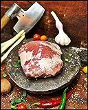 Rancher Steak vom Duroc Schwein aus eigener Herstellung, Dry Aged ItemWeight 612 Gramm