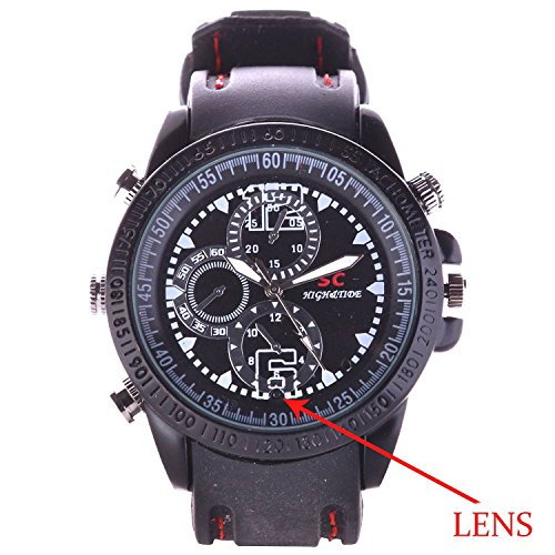 BieBer Smart 4GB Watch Spy Hidden Digital Video Camera Dv 1280*960 Mini Camcorder  available at amazon for Rs.1002
