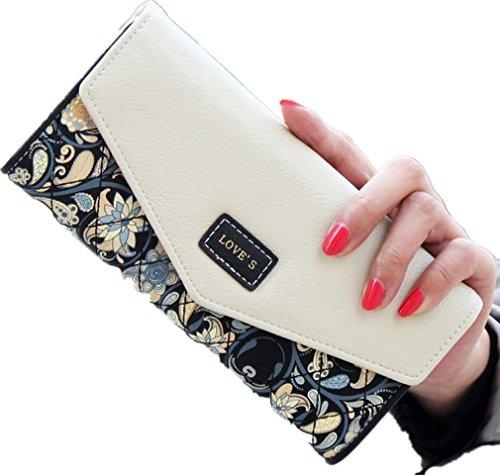 ddlbizr-frauen-geldbeutel-wallet-lange-kartenhalter-mobil-handtasche-schwarz