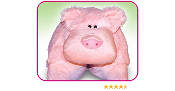 Pig Huggle Buddy Toy Pet Pillow All In One As Seen On Pitch Tv Amazon Co Uk Toys Games