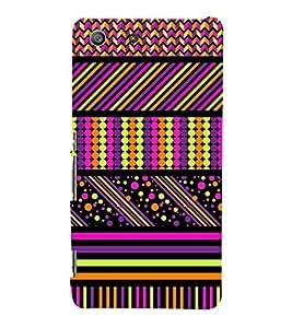 ethnic traditional jaipuri pattern 3D Hard Polycarbonate Designer Back Case Cover for Sony Xperia M5 Dual E5633 E5643 E5663 :: Sony Xperia M5 E5603 E5606 E5653