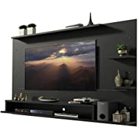 Heera Moti Corporation Panel TV Entertainment Wall Mount Unit/Wall Panels for Tv Unit up to 50 inches (Finish: - Black…