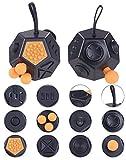 Newgen Medicals Fidget Cube: Anti-Stress-Würfel mit 12 Funktionen gegen Nervosität, Stress und Wut (Fidget Würfel)
