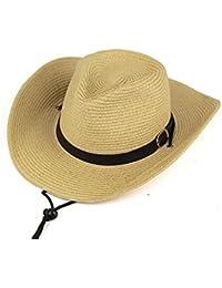 Amazon.es  Beige - Sombreros cowboy   Sombreros y gorras  Ropa 6eb7b858d2e