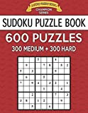 Sudoku Puzzle Book, 600 Puzzles, 300 MEDIUM and 300 HARD: Improve Your Game With This Two Level Book: Volume 22 (Sudoku Puzzle Books Champion Series)