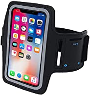 NuSense Resistant armband Fits iPhone Xs Max XR X 8 7 6 6s Plus PORTHOLIC Phone Running Holder Sports Workout