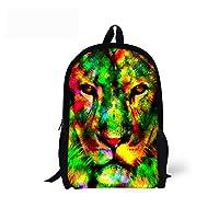 CHAQLIN Cool Animal Backpack Chilren School Bag For Boys Girls Kids Bookbags Teenagers-Green