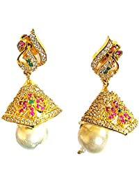 Designer Stylish Party Wear Earrings/Jhumki For Women & Girls