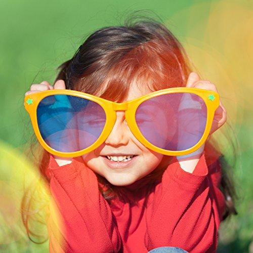 90703ecc0a9d07 Billig Keriber 6 Stücke Jumbo Plastik Sonnenbrillen Bunt Jumbo ...