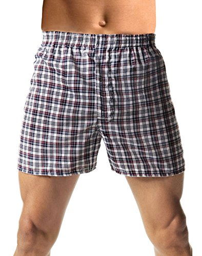 Hanes Men's TAGLESS® Woven Boxers with Comfort Flex® Waistband 3X-5X