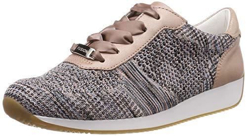 ARA Damen LISSABON 1234027 Sneaker, Beige (Puder-Multi, Puder 35), 38 EU
