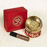 Cuenco Tibetano 7 Metales Armonico 450 Gr Antiguo Original Hecho a Mano en Nepal Excelente Sonido Regalo Espiritual