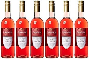 Turmfalke Dornfelder rosé Qualitätswein 2016 (6 x 0.75 l)