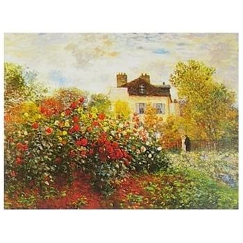 1art1 52155 claude monet die japanische br cke 1899 poster kunstdruck 50 x 40 cm. Black Bedroom Furniture Sets. Home Design Ideas