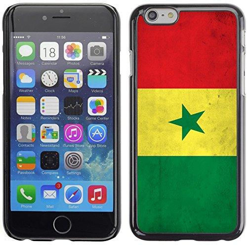 Graphic4You Vintage Uralt Flagge Von Äthiopien Äthiopier Design Harte Hülle Case Tasche Schutzhülle für Apple iPhone 6 Plus / 6S Plus Senegal Senegalesisch
