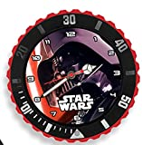 Kids Licensing-sw14043-Star Wars VII-Set Regalo-4in 1Orologio-Salvadanaio-Sveglia e Cornice per Foto Dart Fener