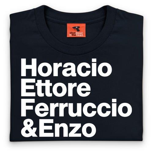 PistonHeads Names 3 T-Shirt, Herren Schwarz