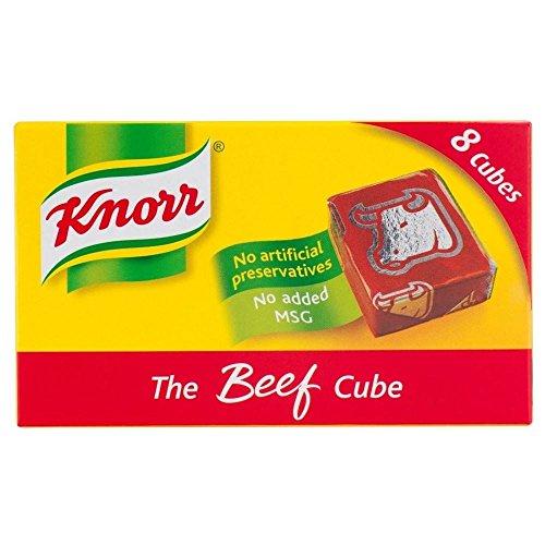 Knorr cubes de bouillon de boeuf (8x10g) - Paquet de 2