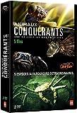 Coffret Animaux Conquérants [ Le règne de l'Araignée - Le Crabe Royal - Le Poisson Lion - La Fourmi de Feu - La Chenille Processionnaire du pin ]