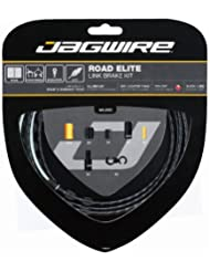 Jagwire Road Elite - Kit de cable de frenos, color negro
