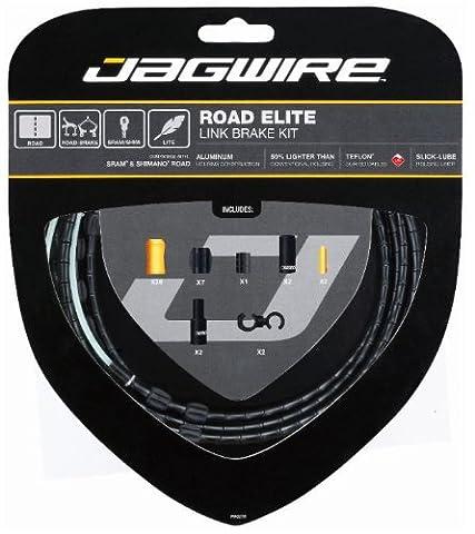 Jagwire Road Elite Link Brake Kit de câble de frein Noir