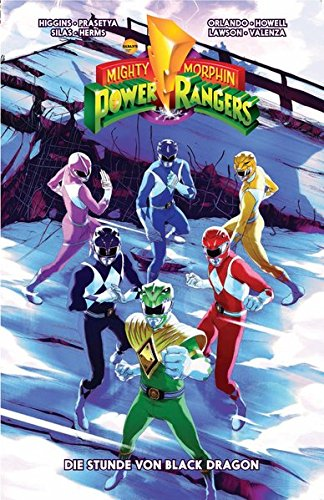 Mighty Morphin Power Rangers: Bd. 2: Die Stunde von Black Dragon (Power Ranger Comic)