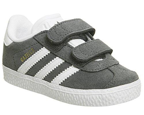 adidas Gazelle 2&Nbsp;CF I&Nbsp;&Ndash;&Nbsp;Chaussures Unisexe Dark Grey White V
