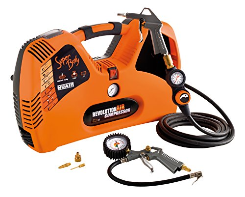 RevolutionAIR Superboxy Compressore, 230 V, Arancione