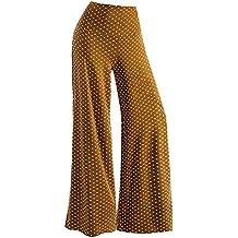 Pantalones Anchos para Mujer Otoño Invierno 2018 Moda PAOLIAN Casual  Pantalones Marlene de Vestir Cintura Alta 0e565101c4e8
