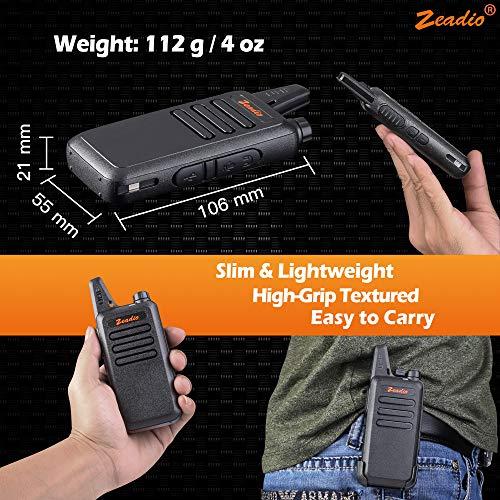 Zoom IMG-3 zeadio ricetrasmittente ultra sottile pmr446