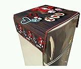 Manvi Creations Refrigerator Top Cover (Multicolour, Medium)