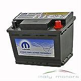 Original Ricambi batería con función Start Stop Alfa Romeo Fiat Lancia 717779535108072912V 60Ah, 500A 242x 175x 190mm