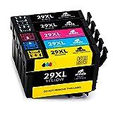 IKONG 29XL, Kompatibel für Tintenpatronen Epson 29XL 29 XL, Hohe Ausbeute, Arbeiten mit Epson Expression Home XP-445 XP-245 XP-247 XP-342 XP-442 XP-332 XP-432 XP-335 XP-345 XP-435 XP-235 Drucker
