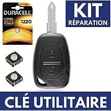 Caja Jongo llave – Carcasa para mando a distancia Renault Trafic • Master • Kangoo +