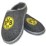 BVB 09 Borussia Dortmund Filzpantoffeln Gr. 42 / 43 Hausschuhe Pantoffeln 15987909