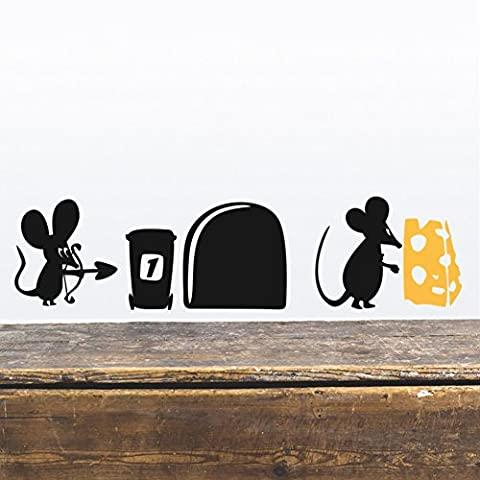 Mouse Hole Wall Sticker