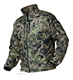 Harkila Q Chaqueta de Lana OptifadeTM Tierra Bosque - Optifade Camuflaje, 36'
