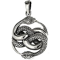 Colgante con motivo de serpientes, plata de ley 925, Nro. 237