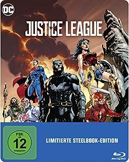 Justice League als Steelbook mit Illustrated Artwork (exklusiv bei Amazon.de) [Blu-ray] [Limited Edition]