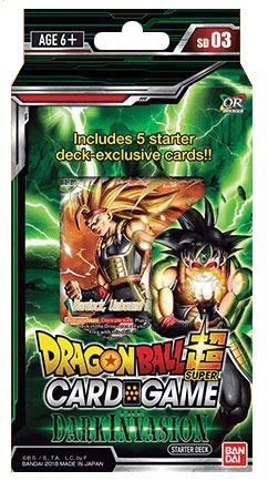 DRAGON BALL SUPER CARD GAME DARK INVASION