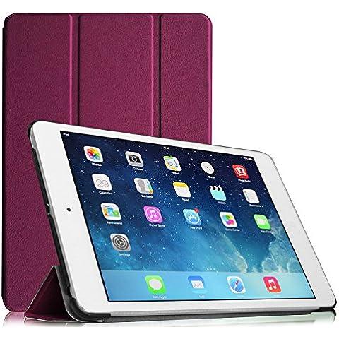 Fintie iPad mini 1 / 2 / 3 Funda - Ultra Slim Fit Smart Case Funda Carcasa con Stand Función y Auto-Sueño / Estela para Apple iPad mini 1 2 3, Purpura