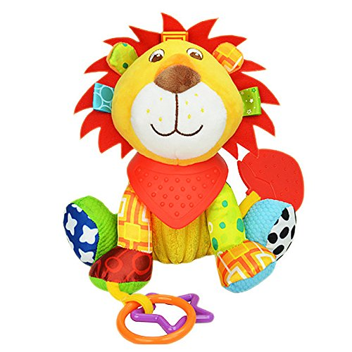 jewelry-rarity-baby-cute-lion-doll-with-teether-educational-developmental-musical-sensory-clip-toy