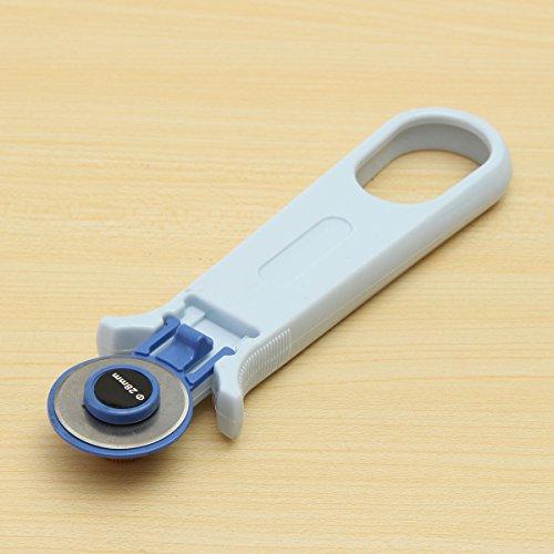 JINHUGU 28mm Rotary Cutter Premium Quilters Nähen Stoff Handwerk Quilten Schneidwerkzeug New (Rotary Cutter Nähen)
