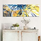 XNFX Wandmalerei Abstrakte Kunst Ölgemälde Poster Und Drucke Wandkunst Leinwand Gemälde Kreative Linie Bilder Für Wohnzimmer Dekor