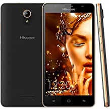 Hisense - Teléfono, U989 Negro y plateado