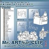 Mr. ARThur CLIP, CD-ROM Grafiken f�r die Gemeindearbeit. F�r Windows 95/98(SE)/2000/Me/XP/NT Bild