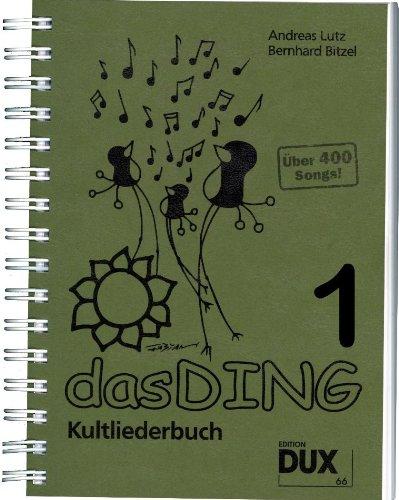 Das Ding Kultliederbuch im Ringeinband mit Grifftabelle für Gitarre (264 Griffe) - mit über 400 Songs u.a. von Madonna, Bob Marley, ABBA, Queen, Elton John u.v.a. (Das Ding) (Noten/Sheetmusic)