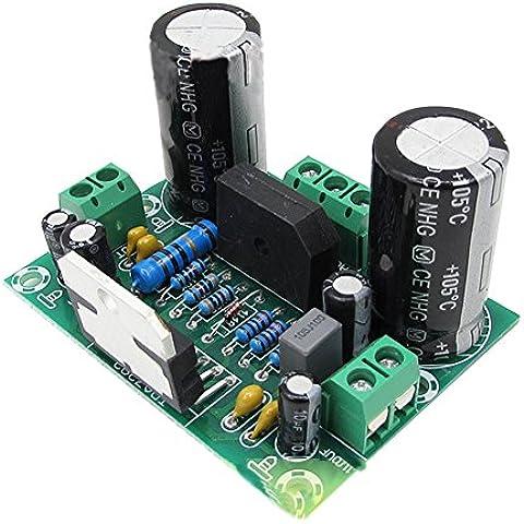 Kissing U Junta de Control de Amplificadores Estéreo del Módulo 100W Mono TDA7293 de alta Potencia Amplificador de Energía Audio Digitales de la Tarjeta Dual de AC 12-32 V Fuente de Alimentación
