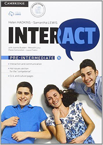 Interact pre-intermediate. Per le Scuole superiori. Con e-book. Con espansione online: 2